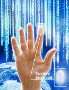 Imagen conceptual de seguridad y tecnología.